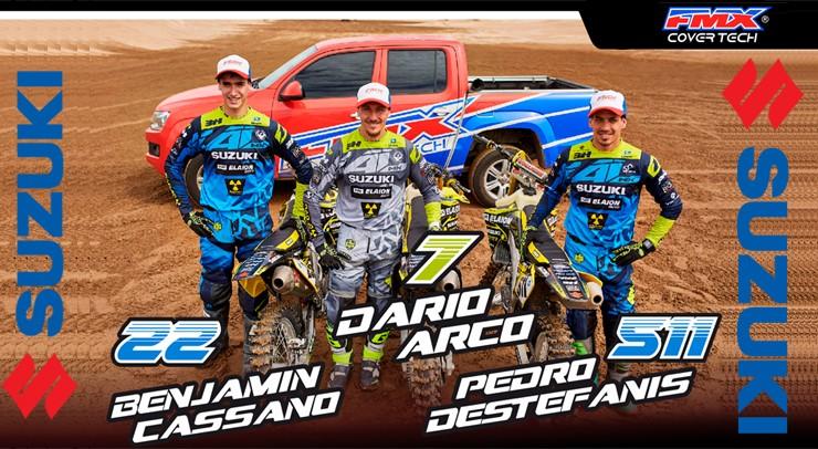 Darío Arco, Benjamín Cassano y Pedro Destefanis
